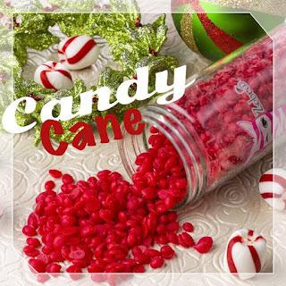 Pink Zebra Candy Cane Sprinkles image