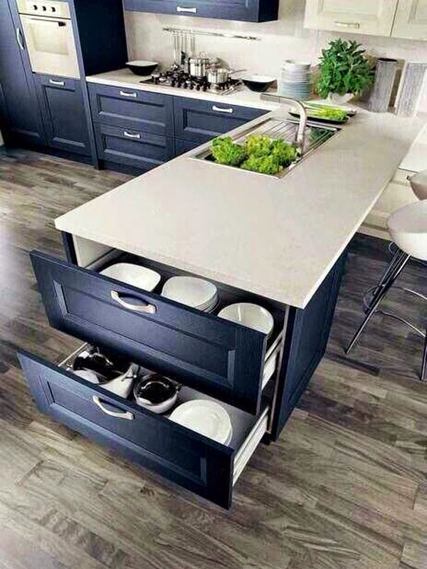 Armarios para Ahorrar el espacio en Cocinas Pequeñas | Cocina y Muebles