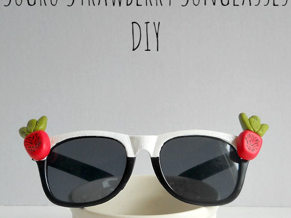 Craft Test Sidekick: Sugru Strawberry Sunglasses DIY