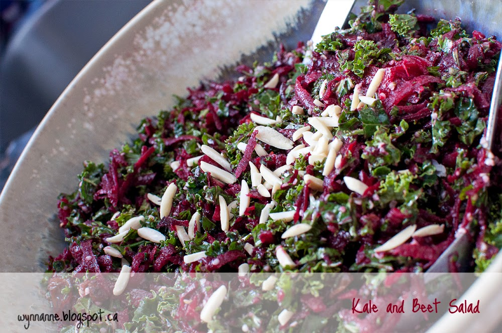 Kale and beet salad | Wynn Anne's Meanderings