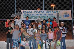 O SEC. GIVALDO SILVA E A GALERA DO BARRA SKATE BROTHERS 2012.