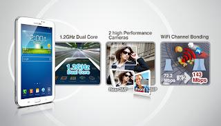 Samsung Galaxy Tab 3 7.0 Android Jelly Bean Harga 3 Jutaan