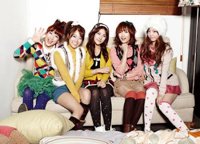 Tangga Lagu Korea Terbaru 2012