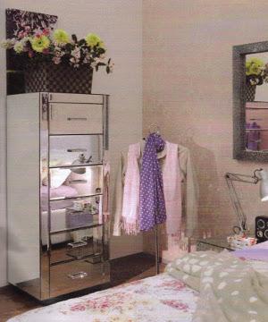 diseño dormitorio morado