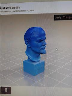 3D CAD model of head