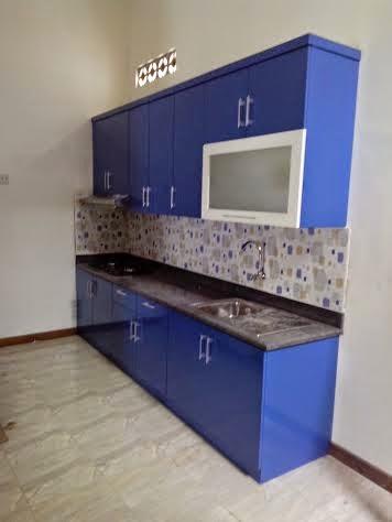 Rimba Asia Furniture Kitchen Set Warna Biru