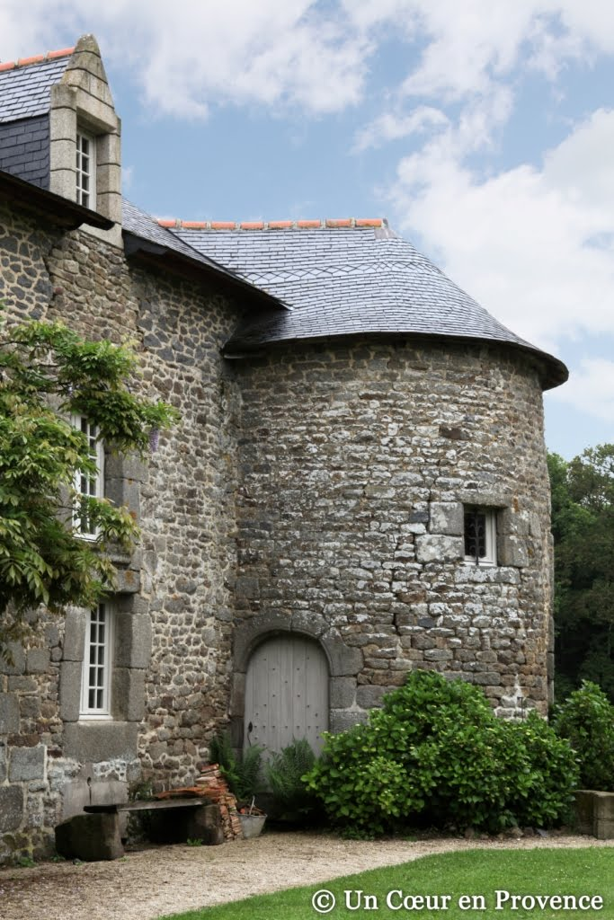 The guest house 'Le Mesnil des Bois', in Brittany