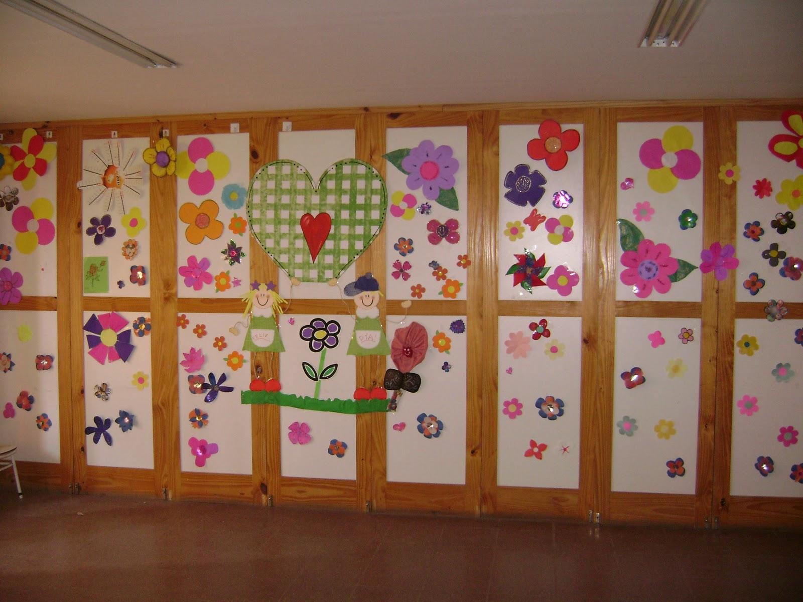 decoraci n en el jard n de infantes enero 2012