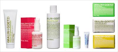 Malin+Goetz skincare