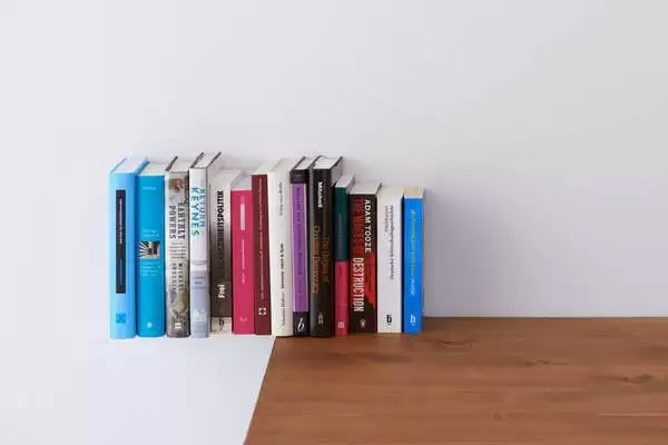 Books as Floating Bookshelves