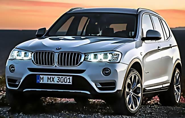 2016 BMW Diesel X3 Redesign Canada
