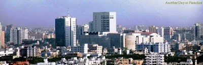 Dhaka City Skyline