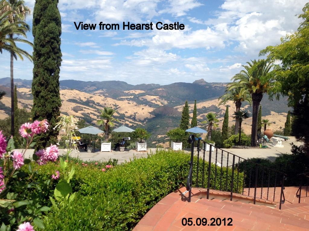 Jan Martin 39 S Travel Blog San Simeon Hearst Castle Usa