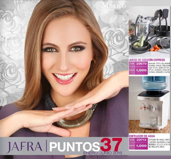 Jafra puntos 37 de 2016 catalogo de enero hasta junio for Catalogo puntos bp