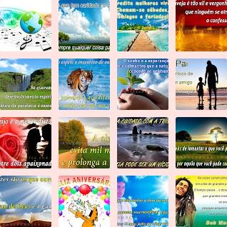 mensagens e frases de temas variados
