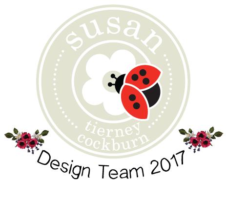 Ex -DT - Susan's Garden-Elizabeth Craft Designs