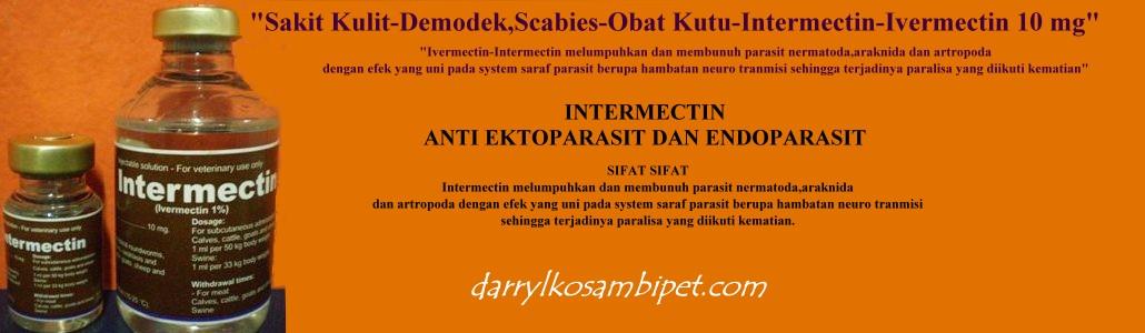 """""""Sakit Kulit-Demodek,Scabies-Obat Kutu-Intermectin-Ivermectin 10 mg"""""""
