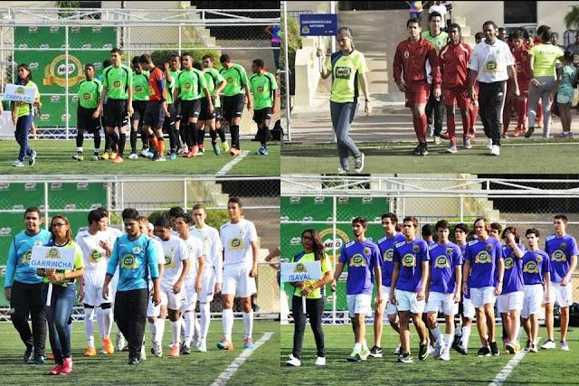 Liga Milo : lo mejor del fútbol Juvenil  dominicano en el 20015