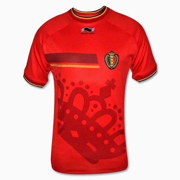 Jersey Negara Belgia - Piala Dunia 2014