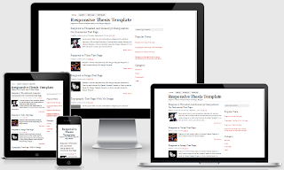Responsive fast loading seo friendly valid html blogger template