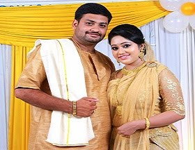 Chandanamazha actress engagement