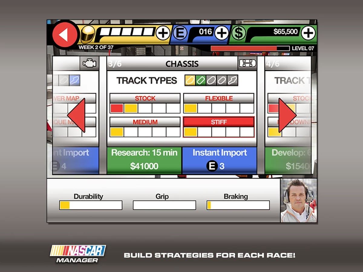 NASCAR Manager v1.1.2 [Mod Money]