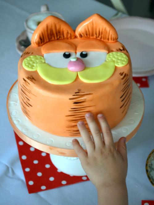 Kessy S Pink Sugar Garfield Torte