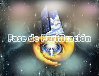 En este momento, en el Proceso de Ascensión han llegado a la fase de purificación, o sea que han llegado a la cima de la benevolencia, Verdad y Poder.