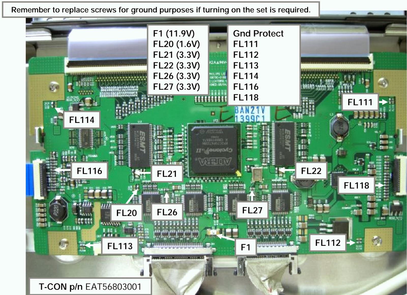 Electro Help Fl112 Fuse Box Pwb Checks