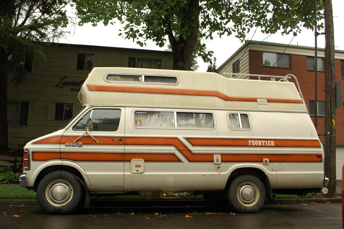 1981 Dodge Ram 350 Royal Frontier Camper Conversion Van RV