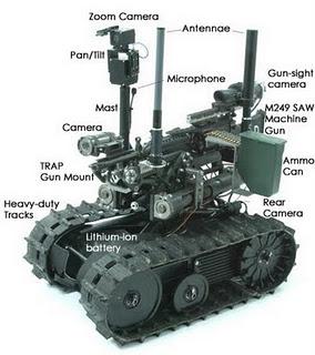 Gambar Robot Militer