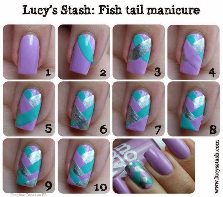 Ladies Nails Arts Tutorials...