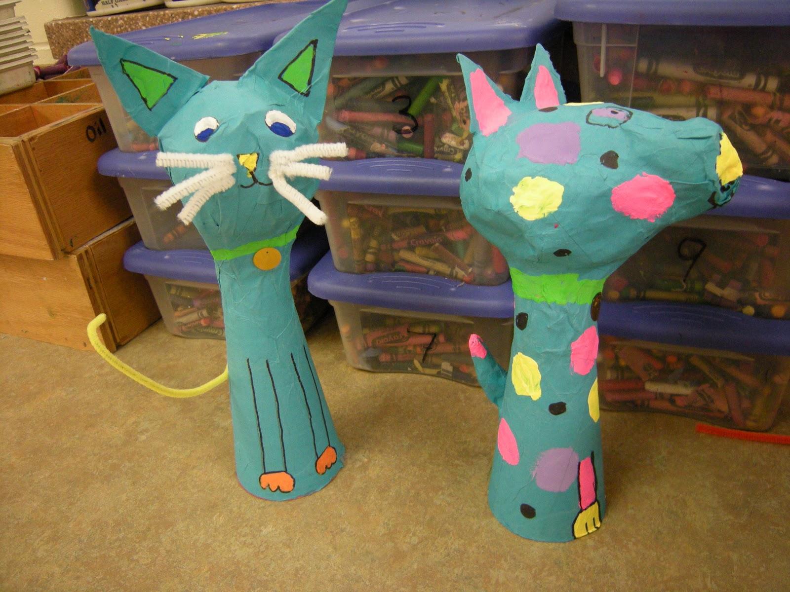 Artolazzi papier mache pets for Paper mache activities