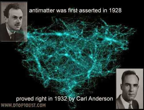Antimatter existence proven