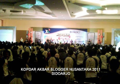 Kopdar Blogger Nusantara 2011 - Sidoarjo