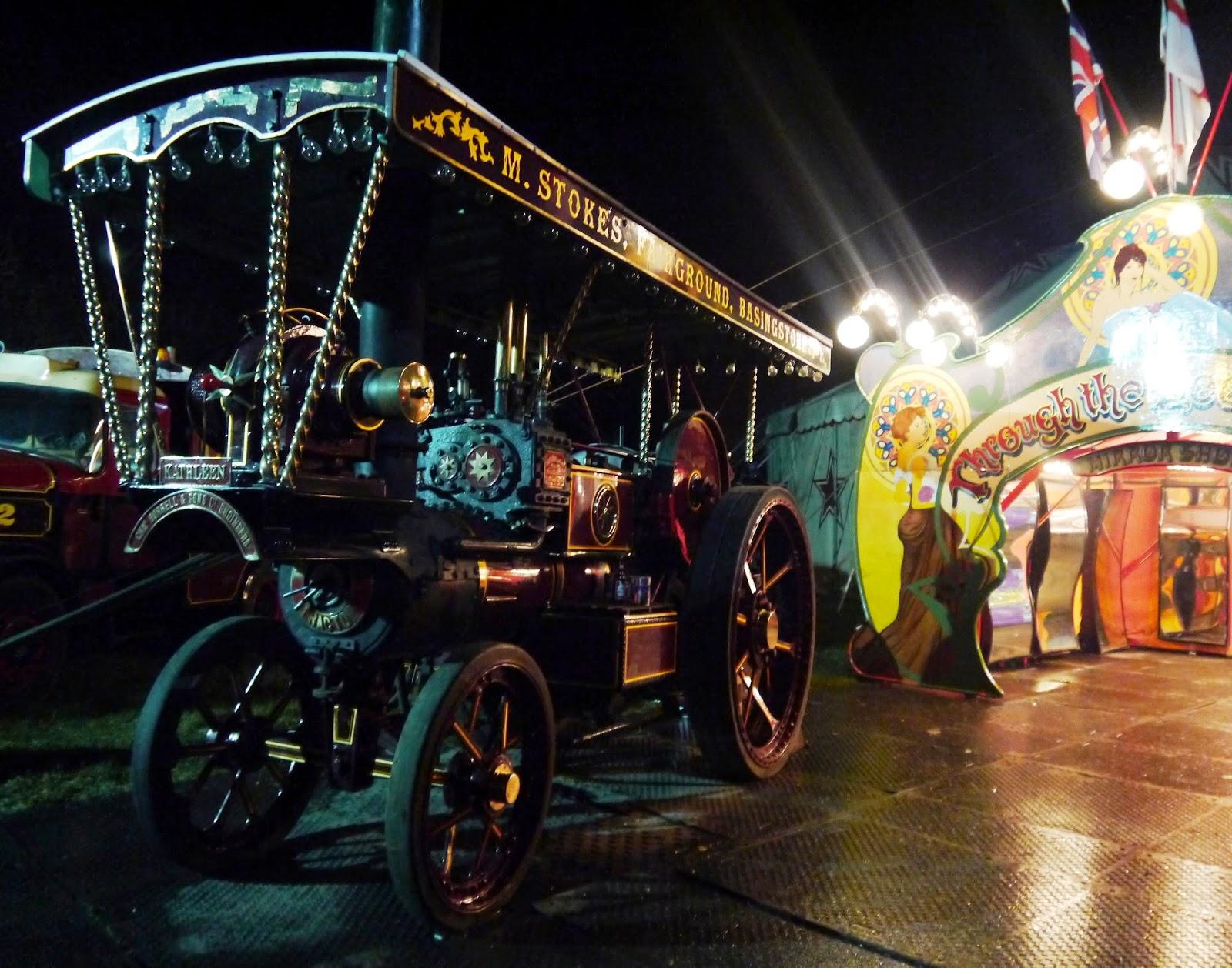 Carters Steam Fair Wedding - Steam Engine