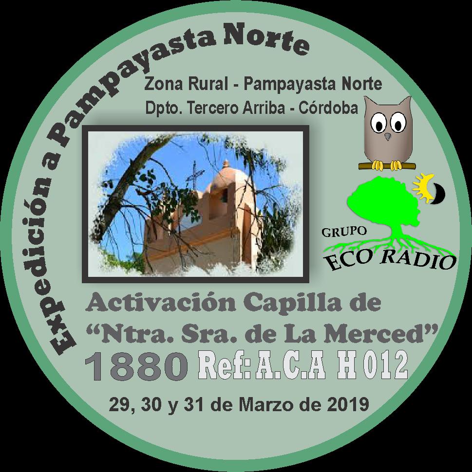 PIN Expedición a la Capillas de Nuestra Señora de La Merced A.C.A. H 0012