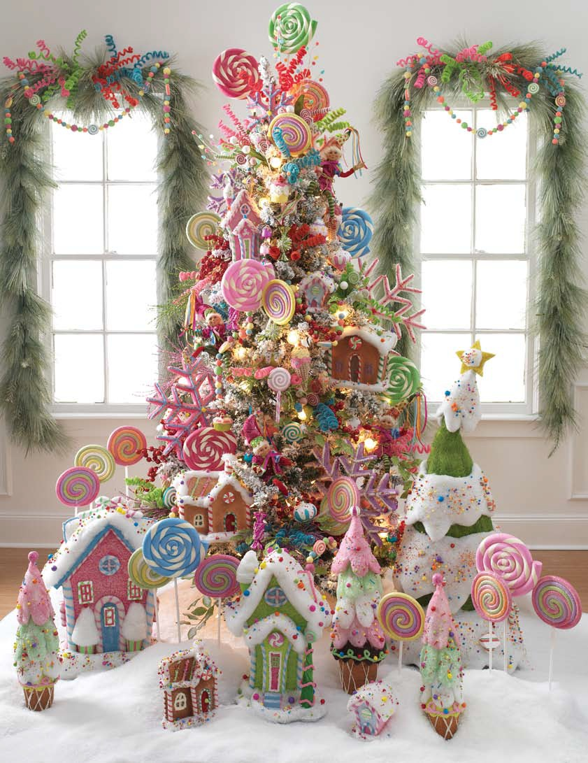 the raz gumdrops and jellybeans lollipops are also great christmas tree ornaments - Lollipop Christmas Decorations