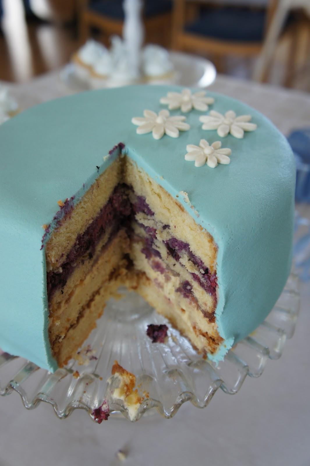 marsipan till tårta