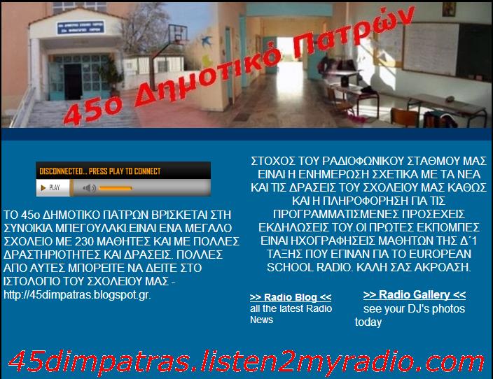 45 RADIO VIDEOSPOT