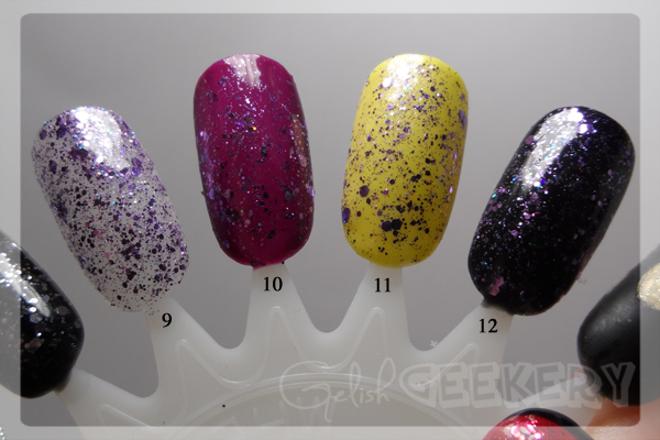 Gelish Trends Feel Me On Your Fingertips Swatch. 9. Feel Me On Your Fingertips; 10. Plum And Done & Feel Me On Your Fingertips; 11. Don't Be Such A Sourpuss & Feel Me On Your Fingertips; 12. Black Shadow & Feel Me On Your Fingertips