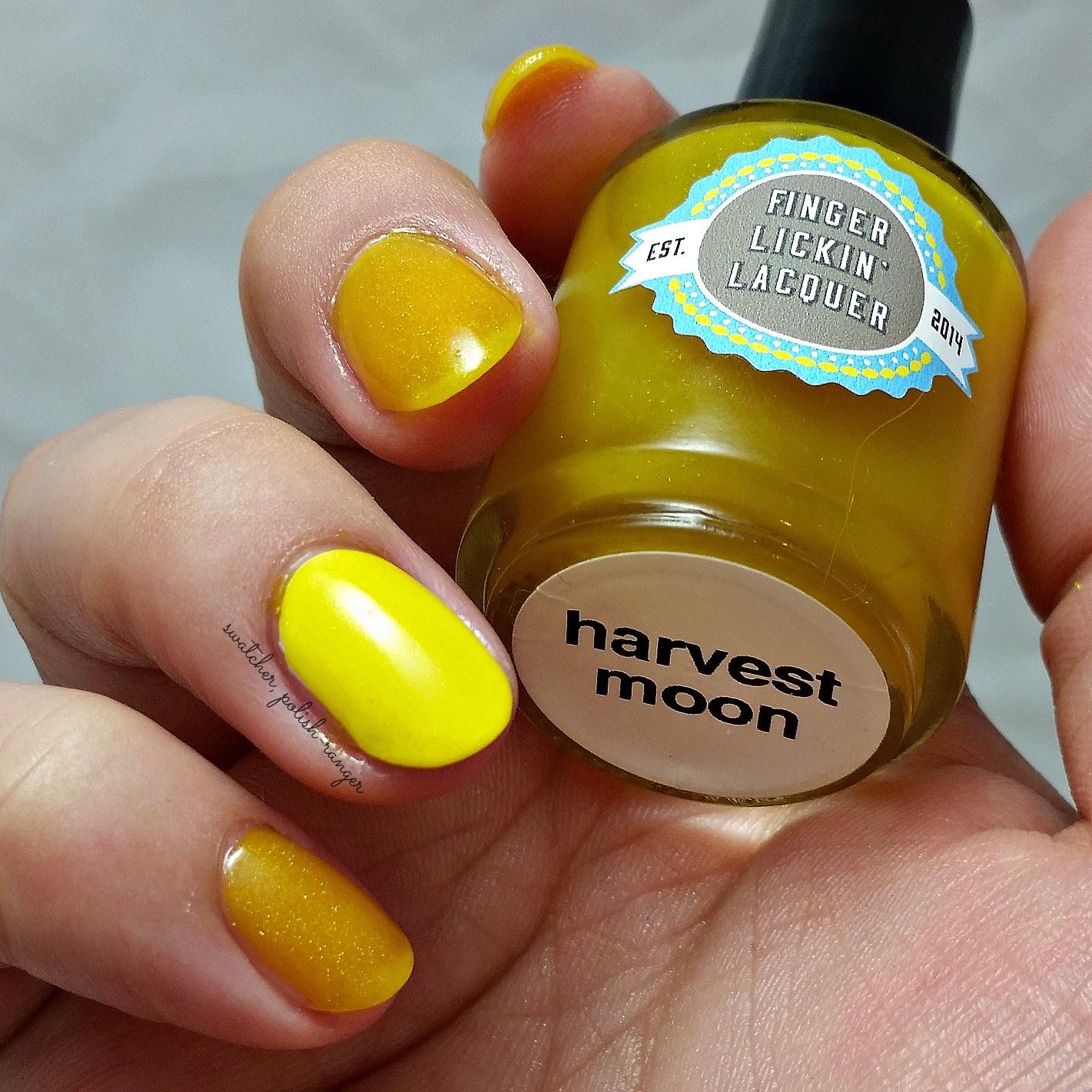 swatcher, polish-ranger | Finger Lickin Lacquer Harvest Moon swatch