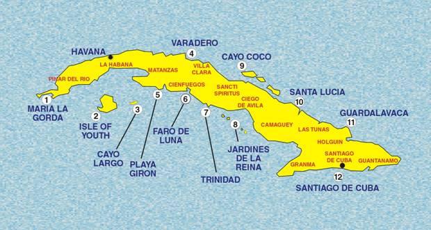 Cuba Now A Rapidly Changing Caribbean Nation Cubaninsider - Cuba provinces map