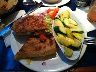 Tortilla West dish: Grilled Three Cheese Sandwich