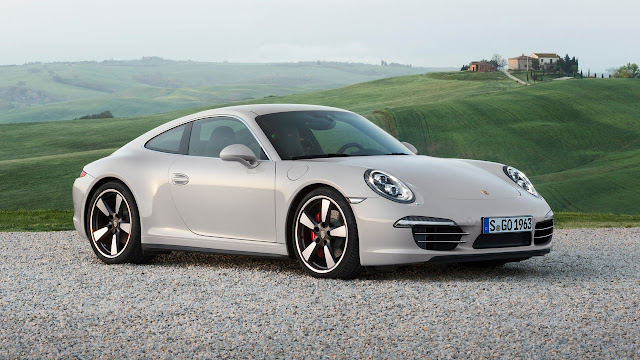 Porsche 911 50 years limited edition model