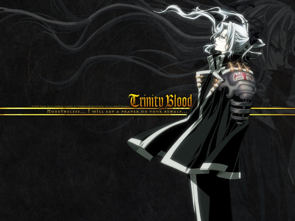 Anime for the Mini-Geek Girl: Trinity Blood (Halloween 3)