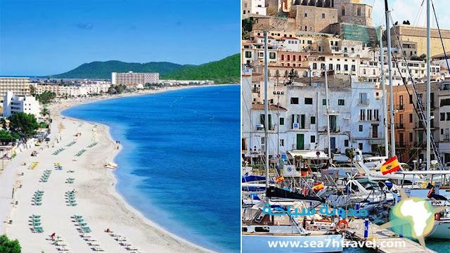 جزيرة إيبيزا في اسبانيا Ibiza