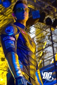 Eric Martsolf as Booster Gold on Smallville