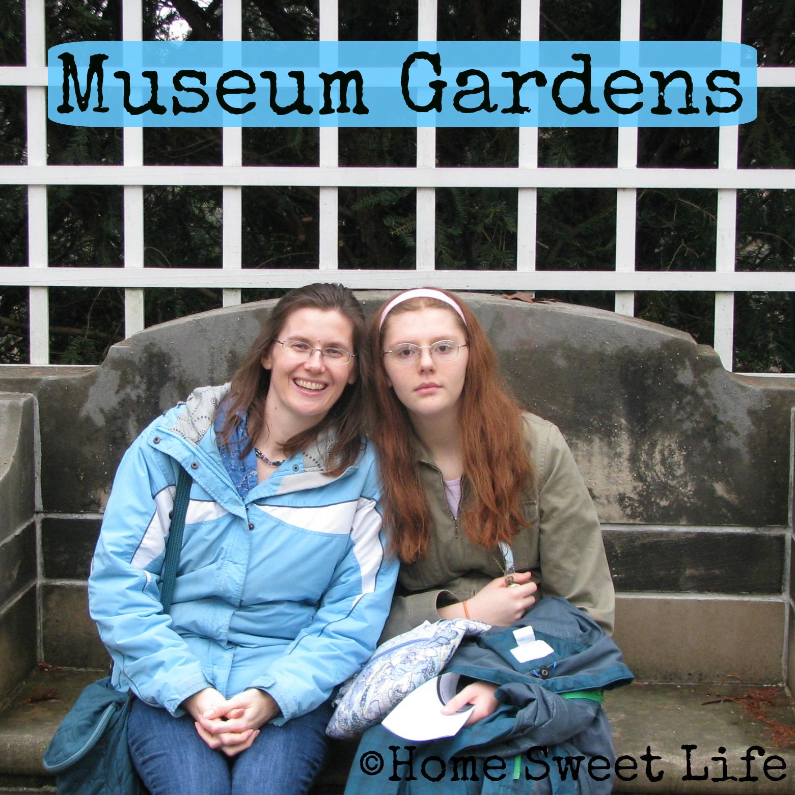 museum gardens, inspiration