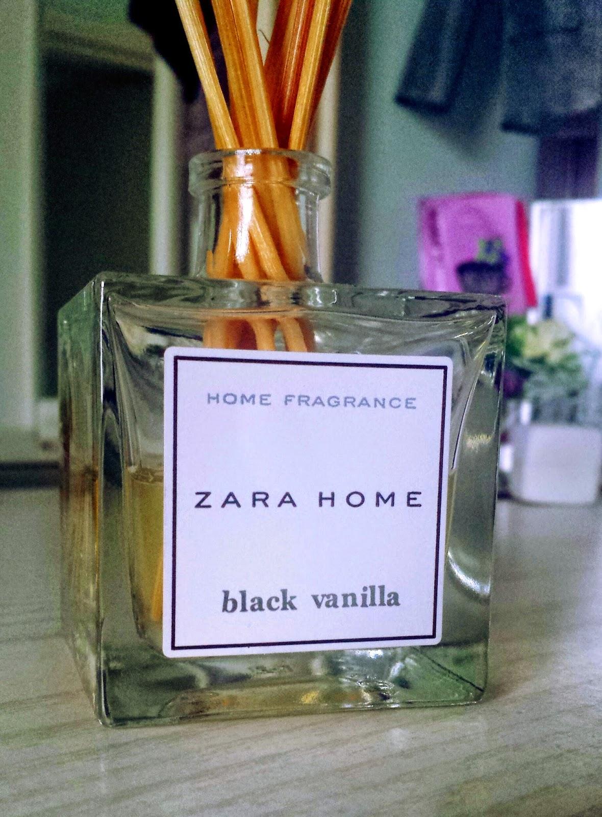 Yasemin Loves Zara Home Black Vanilla Reed Diffuser